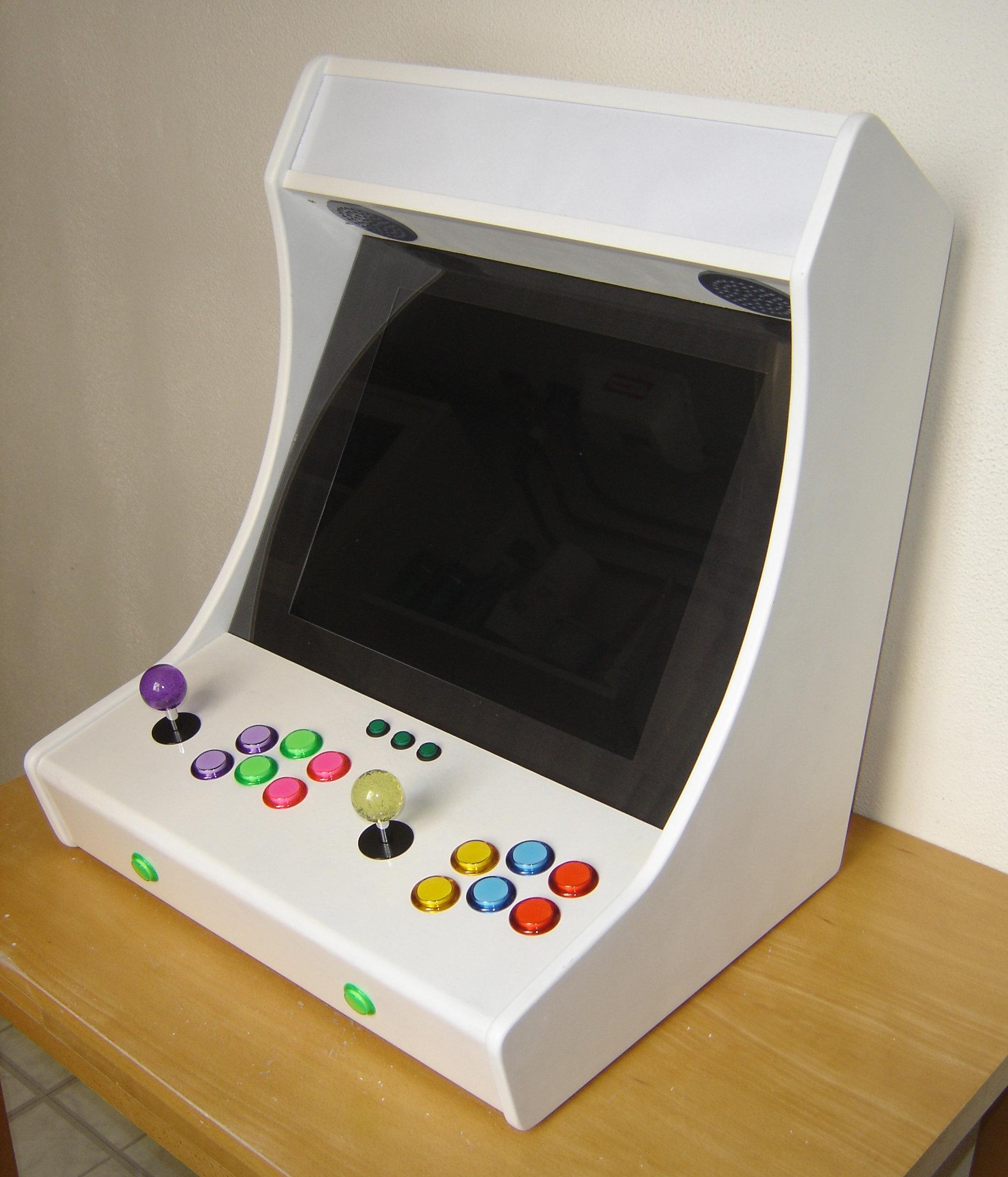 plan de borne d'arcade