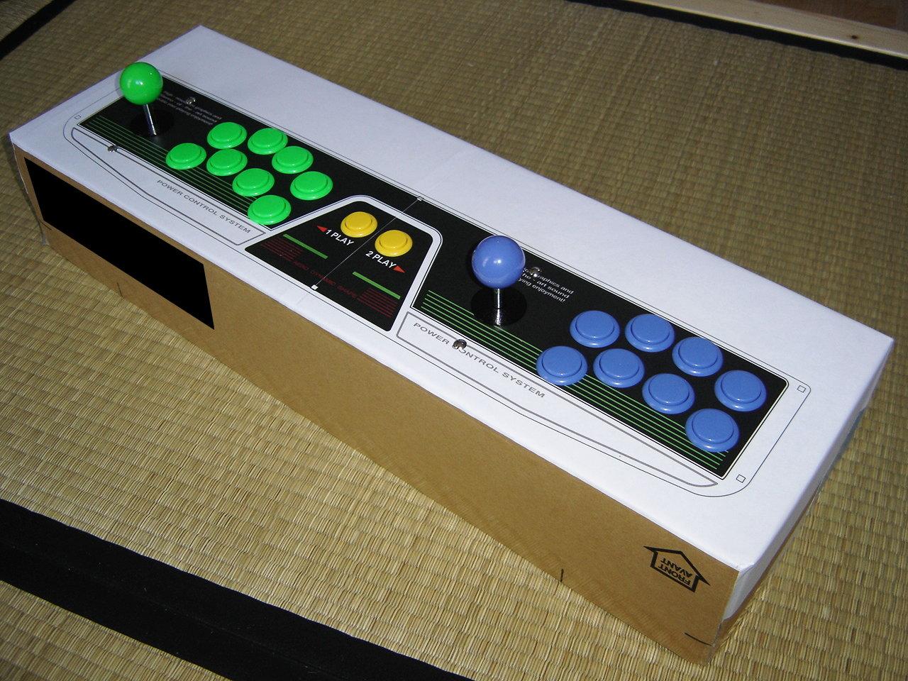 borne arcade 2 joueurs