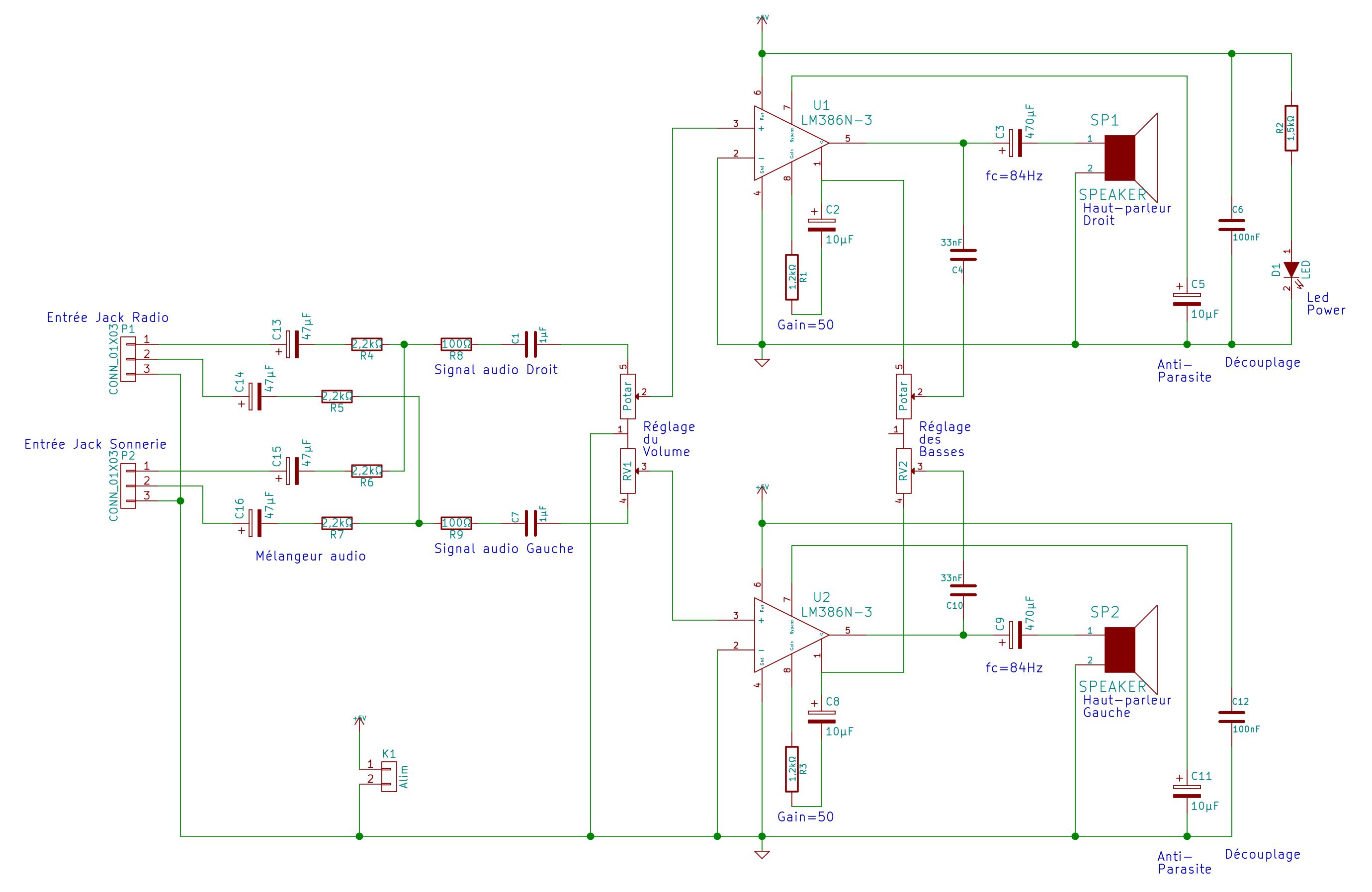 schéma condensateur