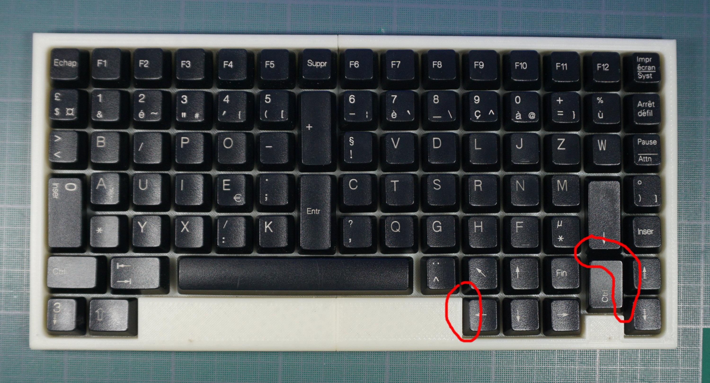 Un clavier orthogonal pour le 21i me si cle 1 for Les parties du clavier